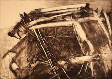 Mattia MORENI - Composizione n. 2 - 1960 -  litografia originale firmata - B484