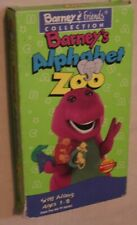 Barney and Friends VHS Tape Alphabet Zoo Children's Video