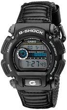 Casio Men's G-Shock Digital Quartz Canvas Strap Grey Watch DW-9052V-1C