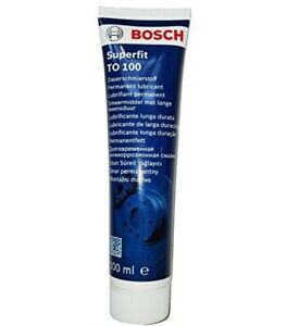 BOSCH Superfit 100ml Brake Pad Anti Squeal Lubricant Grease for caliper, pistons