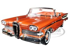 1958 EDSEL CITATION CONVERTIBLE BROWN 1/18 DIECAST MODEL BY ROAD SIGNATURE 92298