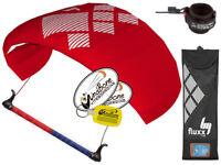 HQ4 Fluxx 1.3 Symphony Trainer Kite Kiteboarding Control Bar + Kite Killer Leash