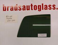 99-06 Toyota Tundra sliding rear window back slider glass LEFT side PATCH