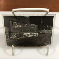 Black&White negative film train Oak Island New Jersey city Winston Engine 9/1960