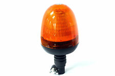 LED Beacon Green 12-24V DIN/Pole Flashing Safety Warning Light- NEW LOW PRICE !