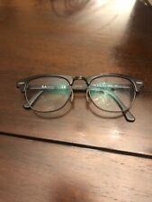 RAY-BAN RB5154 2077 Eyeglasses Frame 49-21-140 Black Matte Horn G2