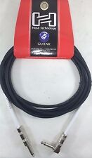 Hosa - GTR-210R - Straight to Right-Angle Guitar Cable, 10 feet