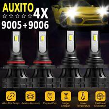 90059006 Cree Led Headlight Kit 144w 32000lm Bulbs 6500k High Amp Low Beam Combo