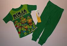 Ninja Turtle~USA~92-98~Schlafanzug~Junge~2 tlg~BW~Nachtwäsche~Schildkröte~neu