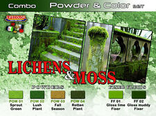 Lifecolor LFC-SPG06 - Lichens & Moss Powder & Color Set