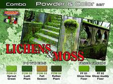 Lifecolor LFC-SPG06 - Lichens & Moss Powder & Color Set
