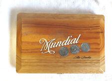 ALEC BRADLEY MUNDIAL PUNTA LANZA No. 5 WOOD CIGAR BOX - NICE!