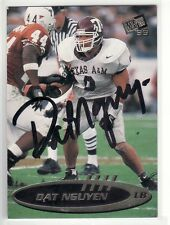 DAT NGUYEN TEXAS A&M UNIVERSITY AUTOGRAPHED CARD