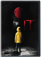It (DVD, 2018) • NEW • Bill Skarsgård, Stephen King, Halloween