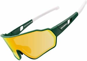 ROCKBROS Bike Polarized Sunglasses for Men Full Frame Cycling Sports Glasses USA
