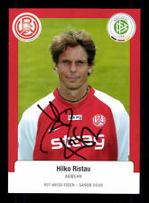 Hilko Ristau Autogrammkarte Rot Weis Essen 2005-06 Original Signiert+A 139834