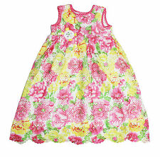 NWT CachCach Girls' Floral Lace Dress ~ Size 10