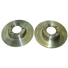 JAGUAR E-TYPE, DAIMLER SOVEREIGN, 420 OEM FRONT BRAKE DISC ( PAIR )  C27024