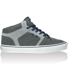 Vans Ellis Mid Charcoal/Grey/Blue Suede Skate Casual MEN'S 6.5 WOMEN'S 8