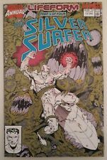 SILVER SURFER ANNUAL #3 1990. 64 PAGES. JIM STARLIN. RON LIM. VF.