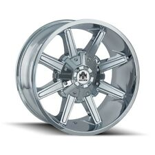 "18"" Mayhem Arsenal 8104 Chrome Wheel 18x9 6x135 6x5.5 18mm Ford GMC 6 Lug"