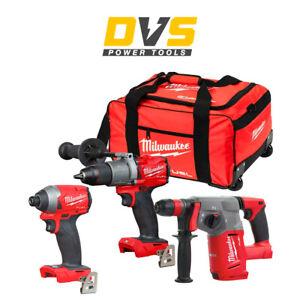 Milwaukee 18V Cordless Fuel Kit M18CHX-0 + M18FPD2-0 + M18FID2-0 Impact Driver