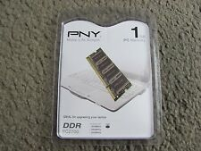 Brand New Pny 1GB PC2700 333MHz DDR SODIMM Notebook Memory MN1024SD1-333