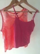 Cotton Traders/ New Look 2X Sleeveless Tops Size 10 < T1351