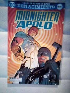 Cómic DC MIDNIGHTER Y APOLO, de Joe Orlando. ECC