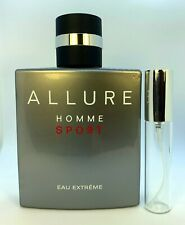 Chanel Allure Homme Sport Eau Extreme spray sample 5 ml, 10 ml decants