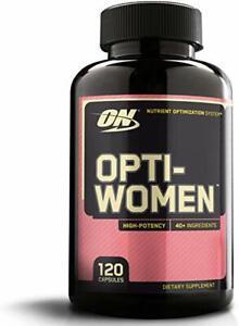 Optimum Nutrition OPTI-WOMEN | Multi-Vitamin | 120 Capsules | Ready-To-Ship!