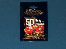 Wincraft Racing Ricky Craven #50 Budweiser Nascar Hat Lapel Pin Pins NOC!