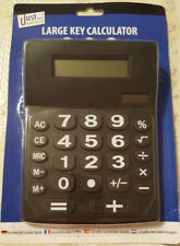 Large Key Calculator Office Desktop Solar