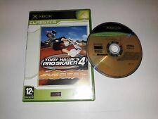 * Original Xbox Classic Game * TONY HAWK'S PRO SKATER 4 * X box N