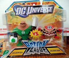 DC UNIVERSE ACTION LEAGUE KILOWOG  & ZILIUS ZOX *NEW*