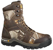 Carhartt Rugged Flex Work Boots 8.5 Comp Safety Toe Waterproof Insulated CMF8379
