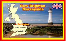 NEW BRIGHTON, MERSEYSIDE  - SOUVENIR NOVELTY FRIDGE MAGNET, SIGHTS / GIFTS / NEW