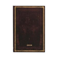 Paperblanks 2020 Diary Black Moroccan Ultra Week-to-View with Notes 12 Month