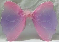 Glittery Tonal Fairy Wing Fancy Dress Up For Kids
