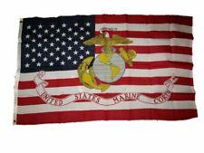 3x5FT Marine Corps American FLAG USMC Marines Banner US USA Military