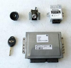 Genuine MINI ECU + Lockset for R50 Cooper 2005 W10 Petrol Manual - 7553710 #YARD