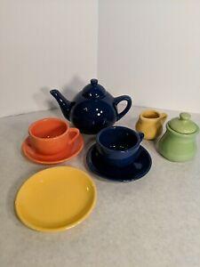 Schylling Tea Set Incomplete