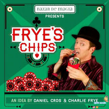 Frye's Chips (DVD and Gimmick) by Charlie Frye,Close up Magic Trick,Fun,Illusion