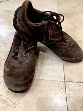 Boys PUMA Brown W/ Beige Accent Suede Shoes Sz 6 Puma Sport Lifestyle