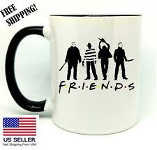 Friends Parody, Horror Movies, Halloween Gift Mug 11 oz Coffee/ Tea