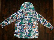 GYMBOREE Girls Hooded 2 Pocket Jacket  Spring Camo Line Size 10-12, 7-8