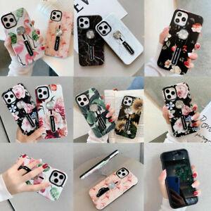 Finger Strap Phone Holder Shockproof Case for iPhone 6S 7 8 SE20 11 XR 12 PROMAX
