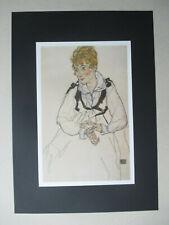 Egon Schiele (1890-1918) - B.-Nr.: 260 - DIN A3