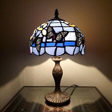 HANDMADE TIFFANY STYLE UNIQUE STAINED GLASS DESK TABLE LAMP SPECIAL OFFER
