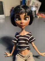 Monster High Short-haired Cleo Custom Ooak Doll Repaint